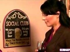 ClubSapphic - Lilly Lovely and Zoey Holloway - Wine and Love