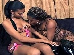 Black Lesbians Lick That Pink Pussy. Nyeema Knoxxx, Lisa Strokes