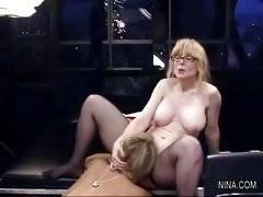 Nina - Nina Hartley Vicky Vette