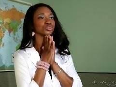 Lesbian Beauties #08 - Interracial. Magdalene St. Michaels, Skin Diamond