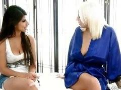 The Blonde With The Big Tits. Layla Rose, Lylith Lavey