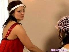 ClubSapphic - Sinn Sage and Indigo Sweet - Two Generations of Horny Hippie