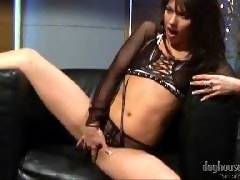 Hot lesbian group sex with dildo from DogHouseDigitalhd