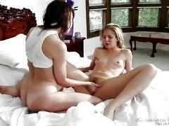 Lesbian Babysitters #08, Scene #02. Chastity Lynn, Dana DeArmond