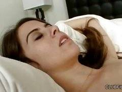 Tawny Tyler and Violet Hill Share a Bed