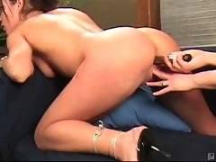 Sweet lesbian pussies fucked from PinkVisualPass HD Lesbian