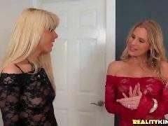 Romantic exchange. Brianna Ray Loren Nicole