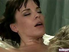 ClubSapphic - Dana Dearmond and Julia Ann - Wake You Up With Oral Sex