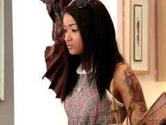 Lesbian Beauties #08 - Interracial. Magdalene St. Michaels, Skin Diamond