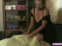 ClubSapphic - Debi Diamond and Erica Lauren at the Massage Parlor